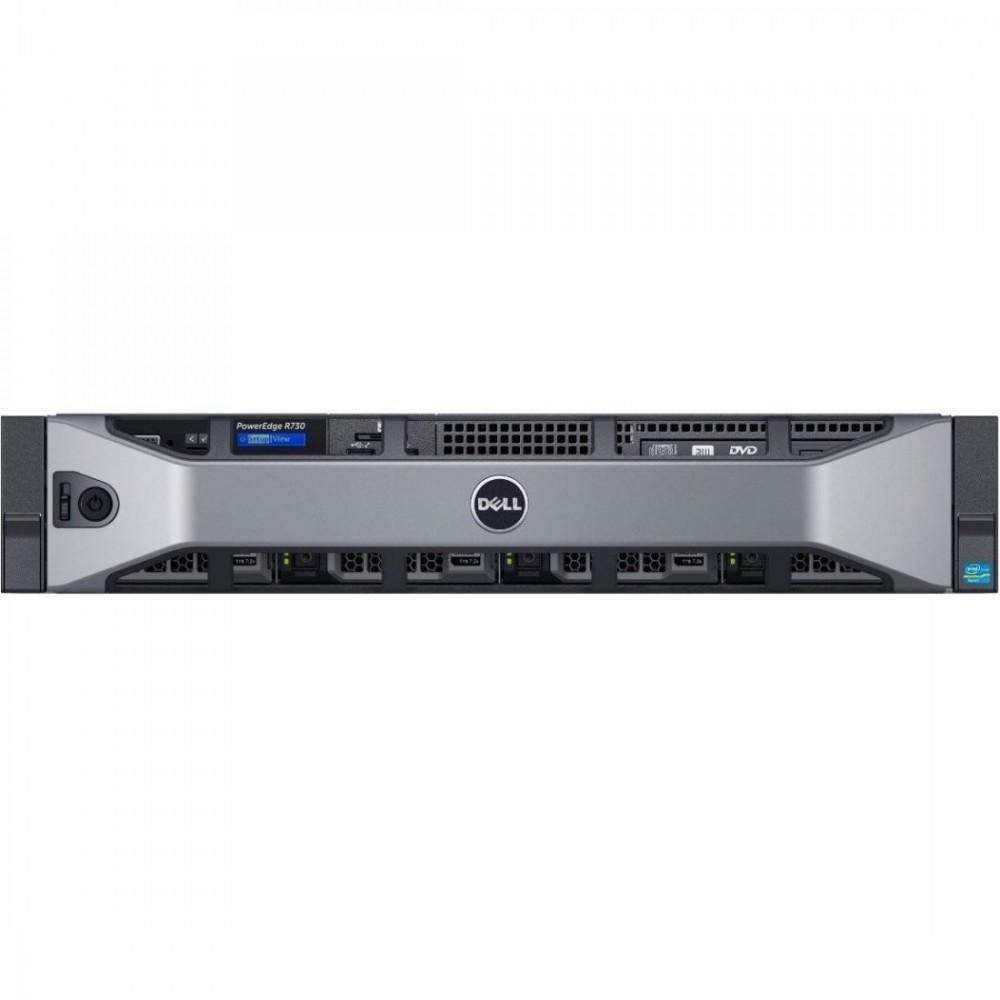 """Dell PowerEdge R730 (Xeon E5-2620v4, 16GB(1x16GB), 2 x 2TB NLSAS 3.5"""")"""