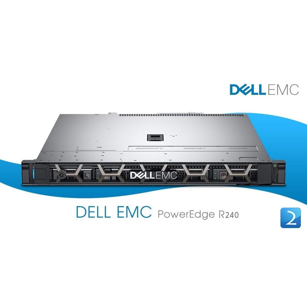 Dell PowerEdge R240 ( XEON E3-2124 8GB 1TB SATA 3,5in )