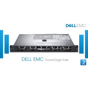 Dell PowerEdge R340 ( XEON E 2124 8GB 2TB SAS )