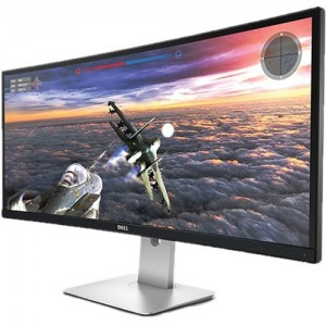 "Dell U3415W 34"" UltraSharp LED-Backlit Curved Monitor"
